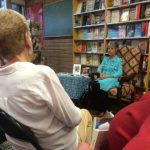 "Phyllis M Skoy reads from ""What Survives"" at Bookworks on Sept. 25, 2016"