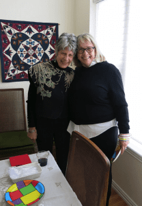 The author with Mary Ellen Lawrence